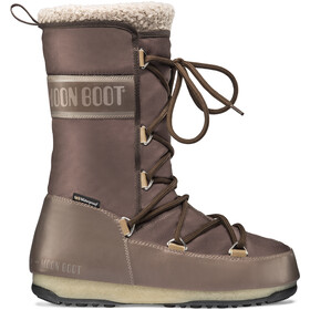 Moon Boot Monaco Wool WP Boots hiver Femme, mud